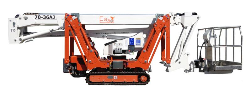 SPIDER / ATRIUM TRACKED BOOM LIFTS height=