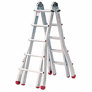 MULTI-POSITION TELESCOPIC LADDERS height=