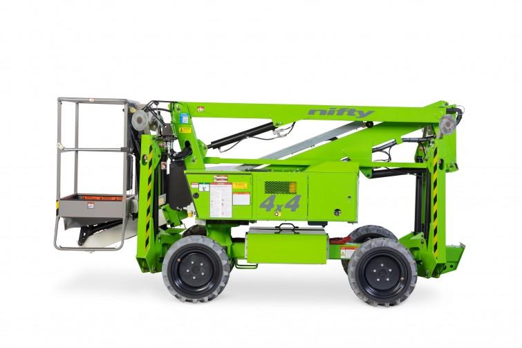 34ft 4x4 Self Drive Work Platform Boom Lift