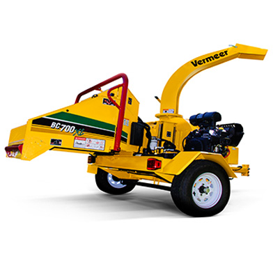6-inch Wood / Brush Chipper 25hp Hydraulic Feed - Gas