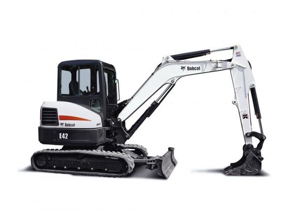 Excavator Mini 4 Ton - Max Dig Depth 11ft