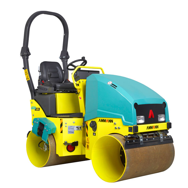 1.6-ton Ride-on Roller- 39-inch Double Drum - Diesel