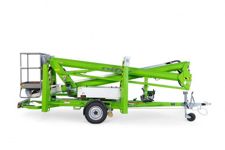 50ft Trailer Mounted Towable Boom Lift